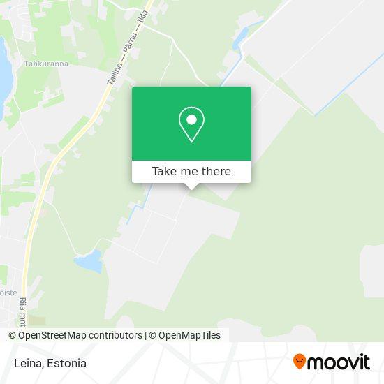Leina map
