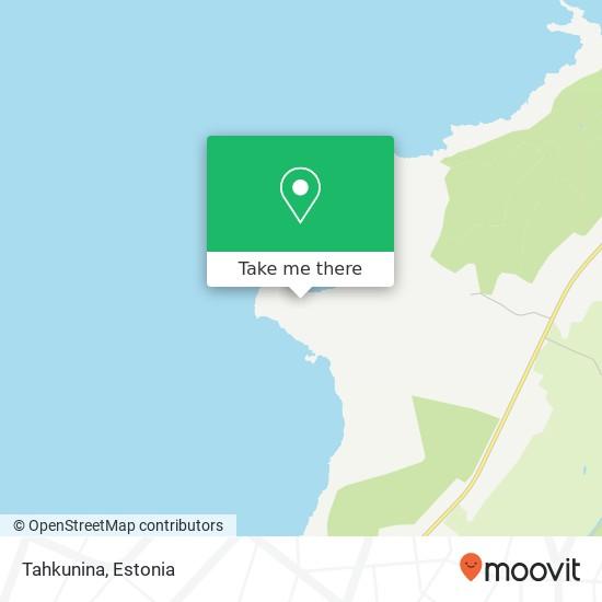 Tahkunina map