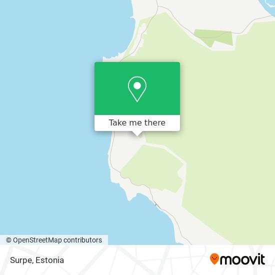 Карта Surpe