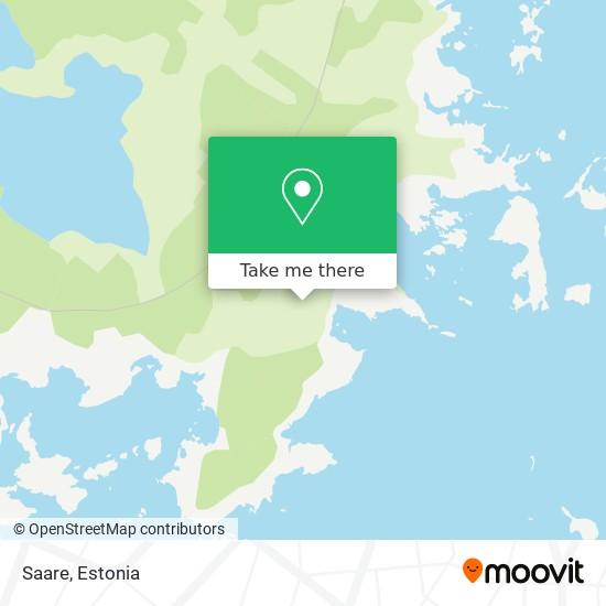 Saare map