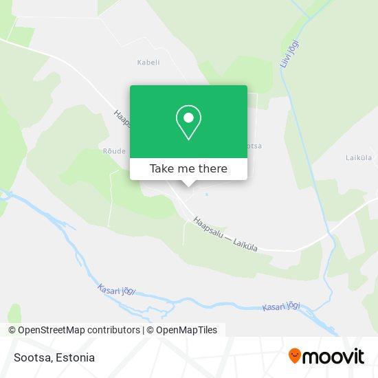 Sootsa map