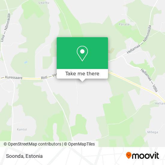 Soonda map