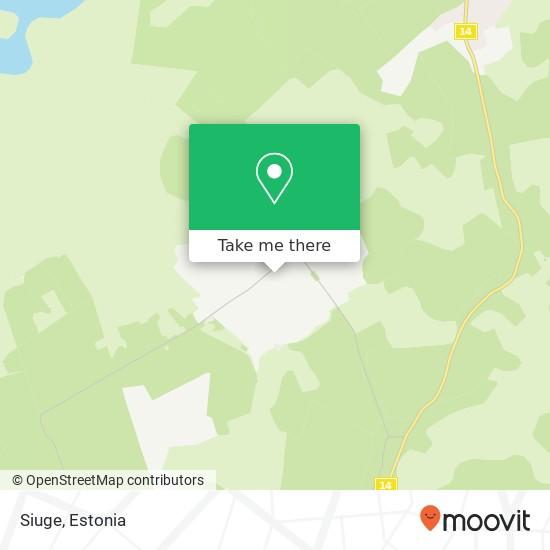 Siuge map