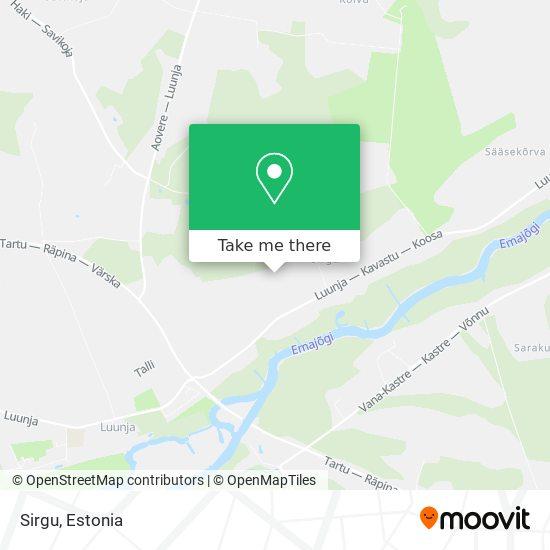 Sirgu map