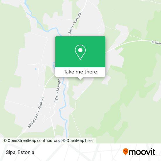 Sipa map