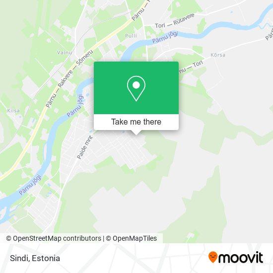 Sindi map
