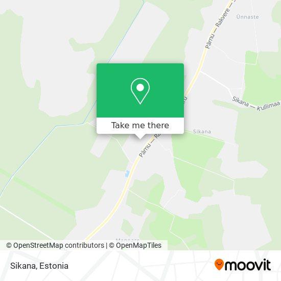 Sikana map