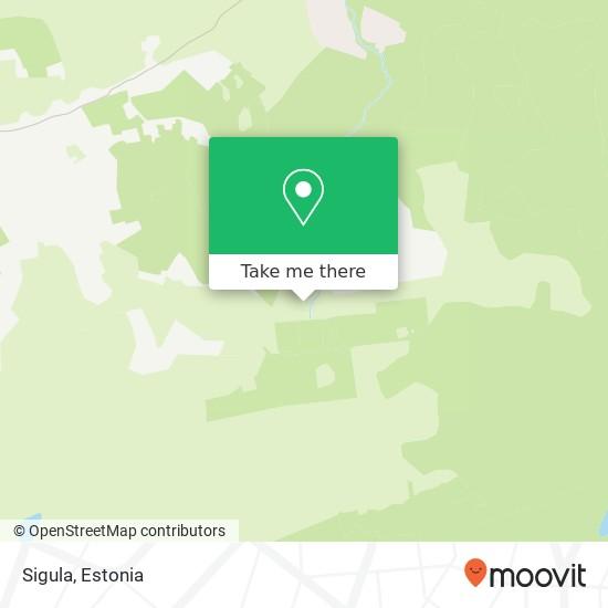 Sigula map
