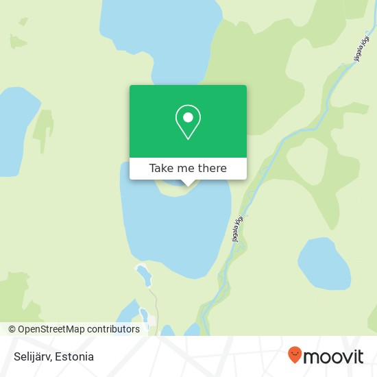Selijärv map