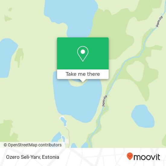 Ozero Seli-Yarv map