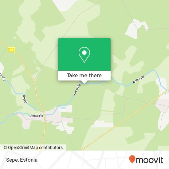 Sepe map