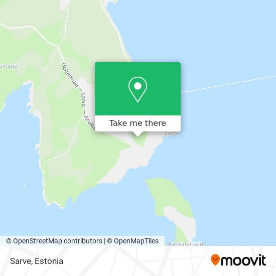Карта Sarve