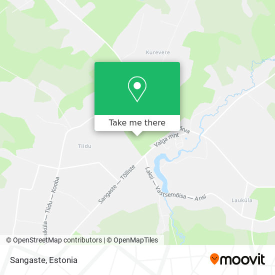 Sangaste map