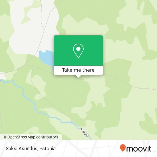 Saksi Asundus map