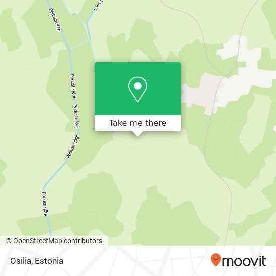 Osilia map