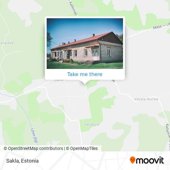 Sakla map