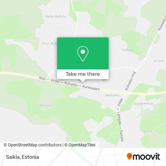 Saikla map