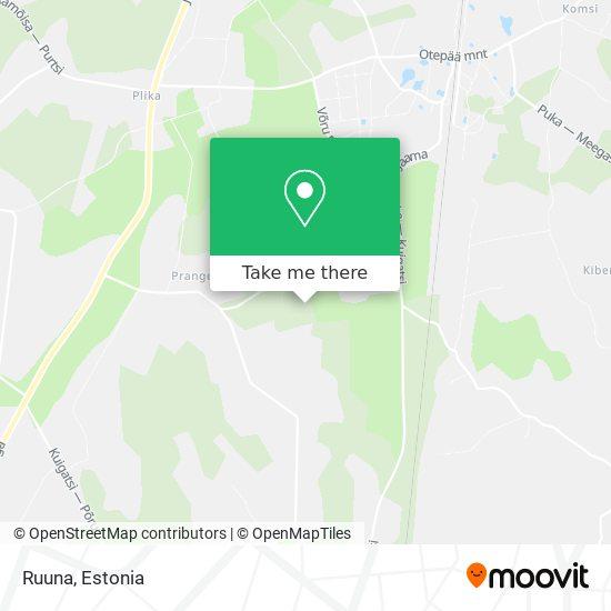 Ruuna map