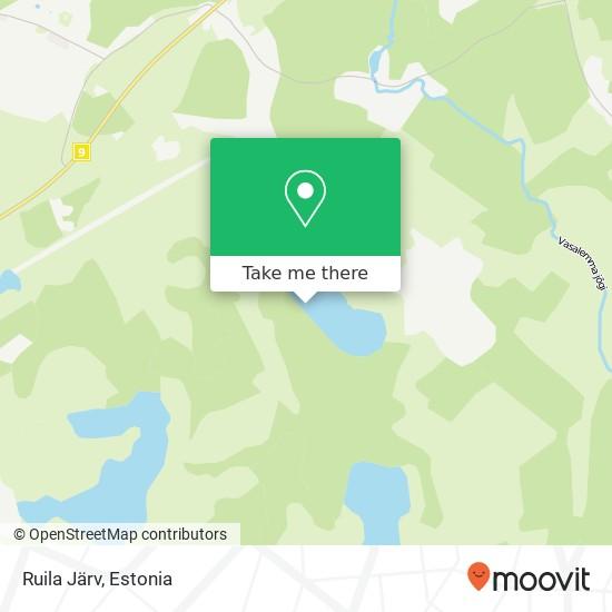 Ruila Järv map