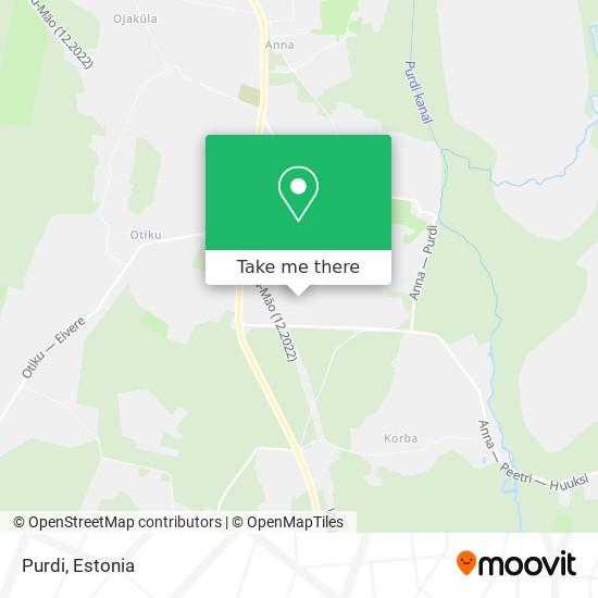Purdi map