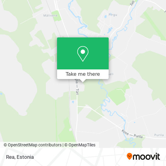 Карта Rea