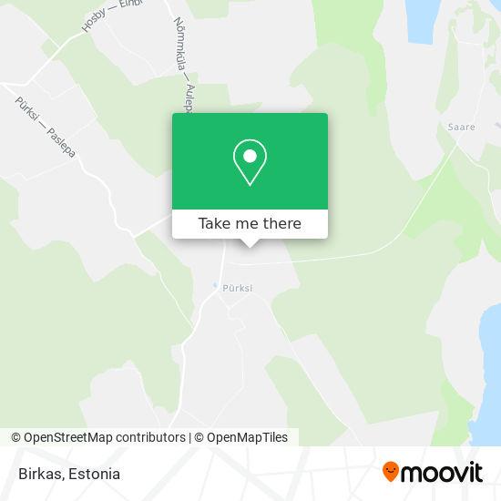 Birkas map