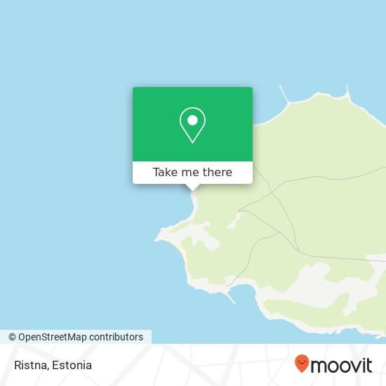 Ristna map