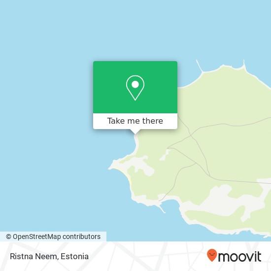 Ristna Neem map