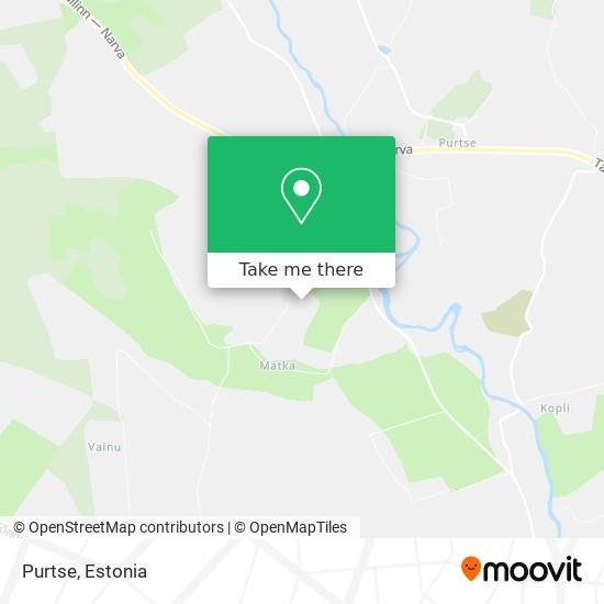 Purtse map