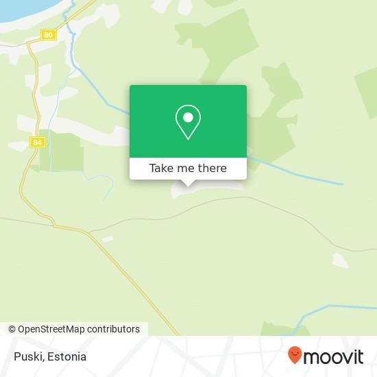 Puski map