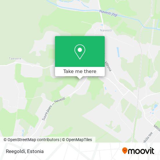 Reegoldi map