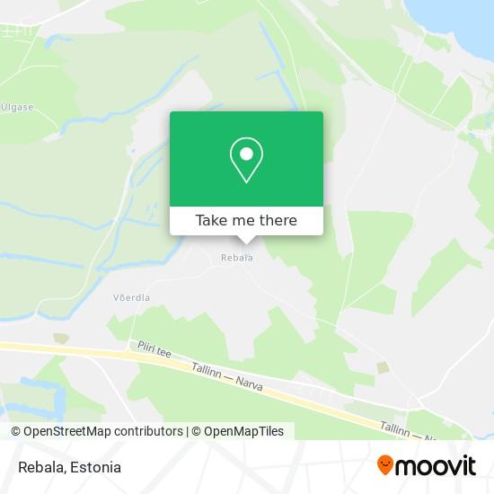 Rebala map
