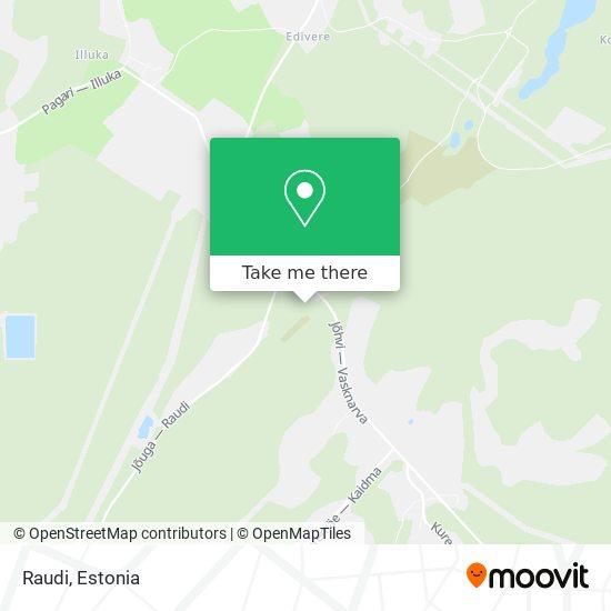 Raudi map