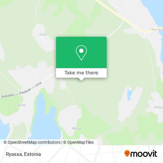 Ryassa map