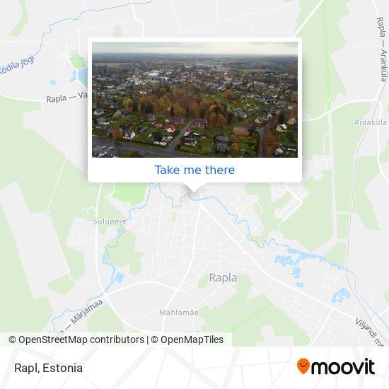 Карта Rapl