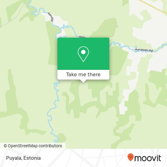 Puyala map