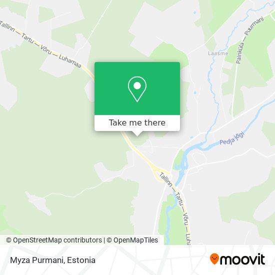 Myza Purmani map