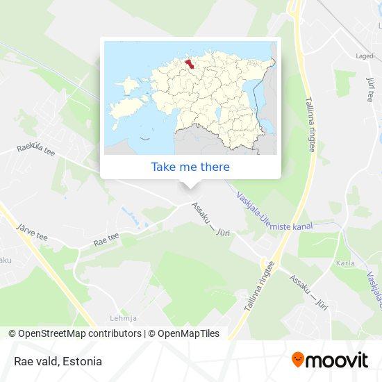Rae vald map