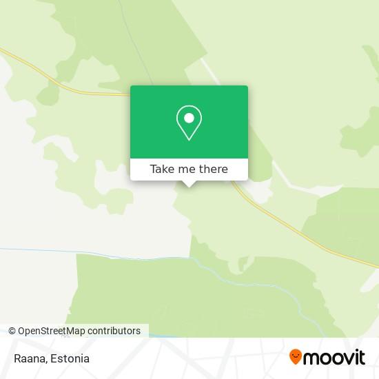 Raana map