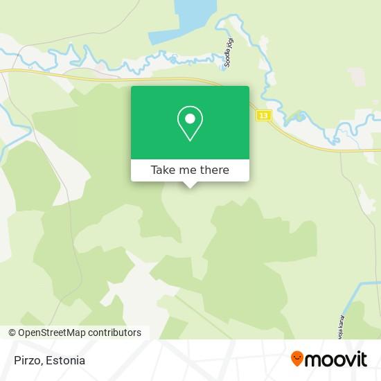 Pirzo map