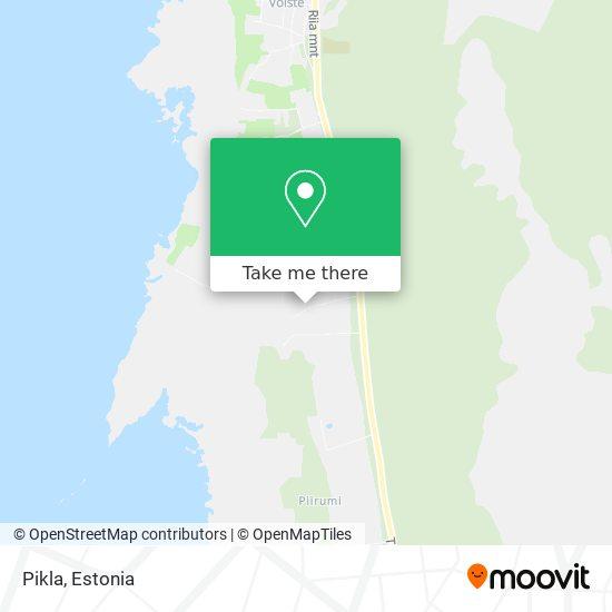 Карта Pikla