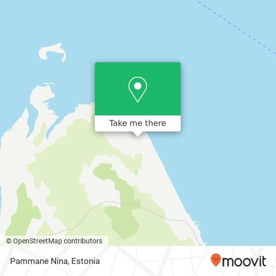 Pammane Nina map