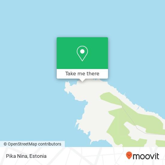 Pika Nina map