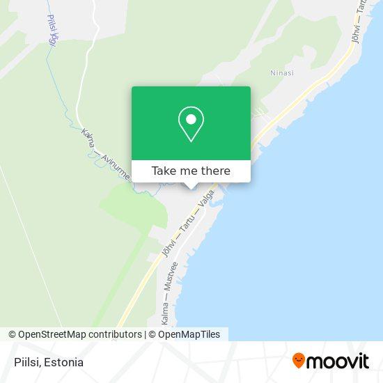 Карта Piilsi