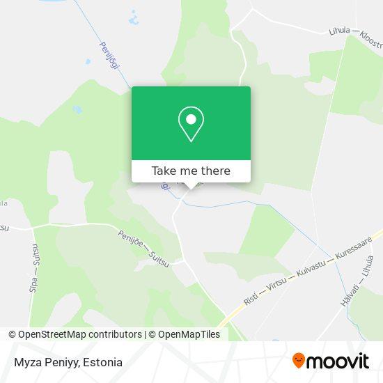 Myza Peniyy map