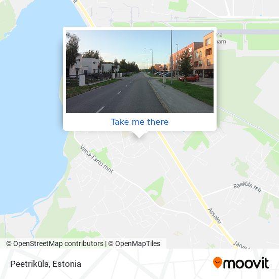 Peetriküla map