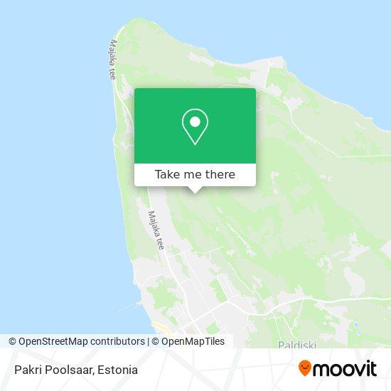 Pakri Poolsaar map