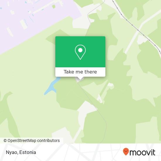 Nyao map