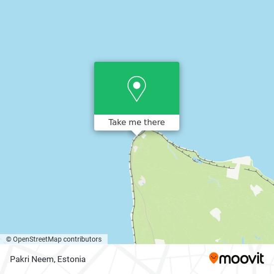 Pakri Neem map