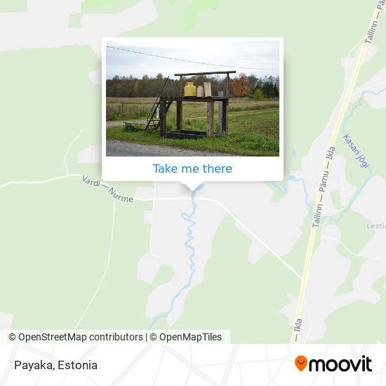 Payaka map